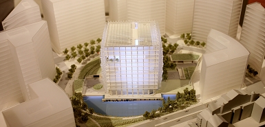 A Model Of The Us Embassy