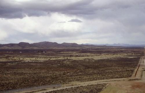 Mexico/US border