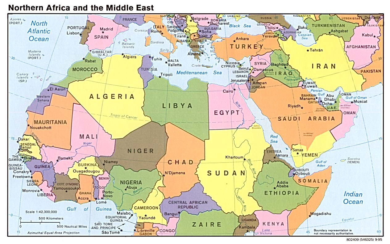 Who is responsible for the middle east meltdown
