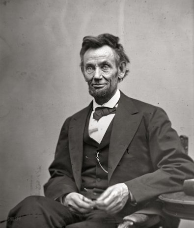 Abe Lincoln 1865