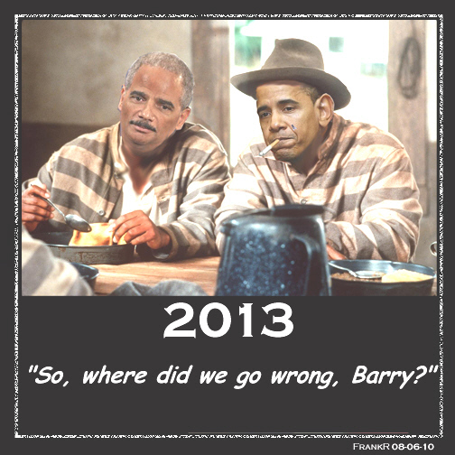 Obama and Holder in jail