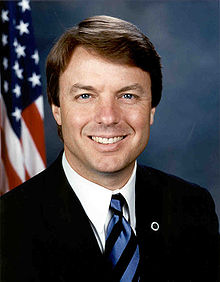 John Edwards,official Senate photo portrait