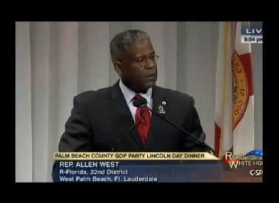 Allen West - GOP Lincoln Day Dinner
