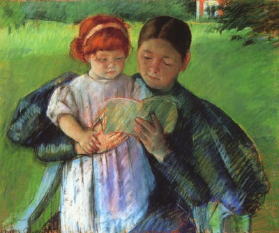 Cassatt_Mary_Nurse_Reading_to_a_Little_Girl_1895 - Copy