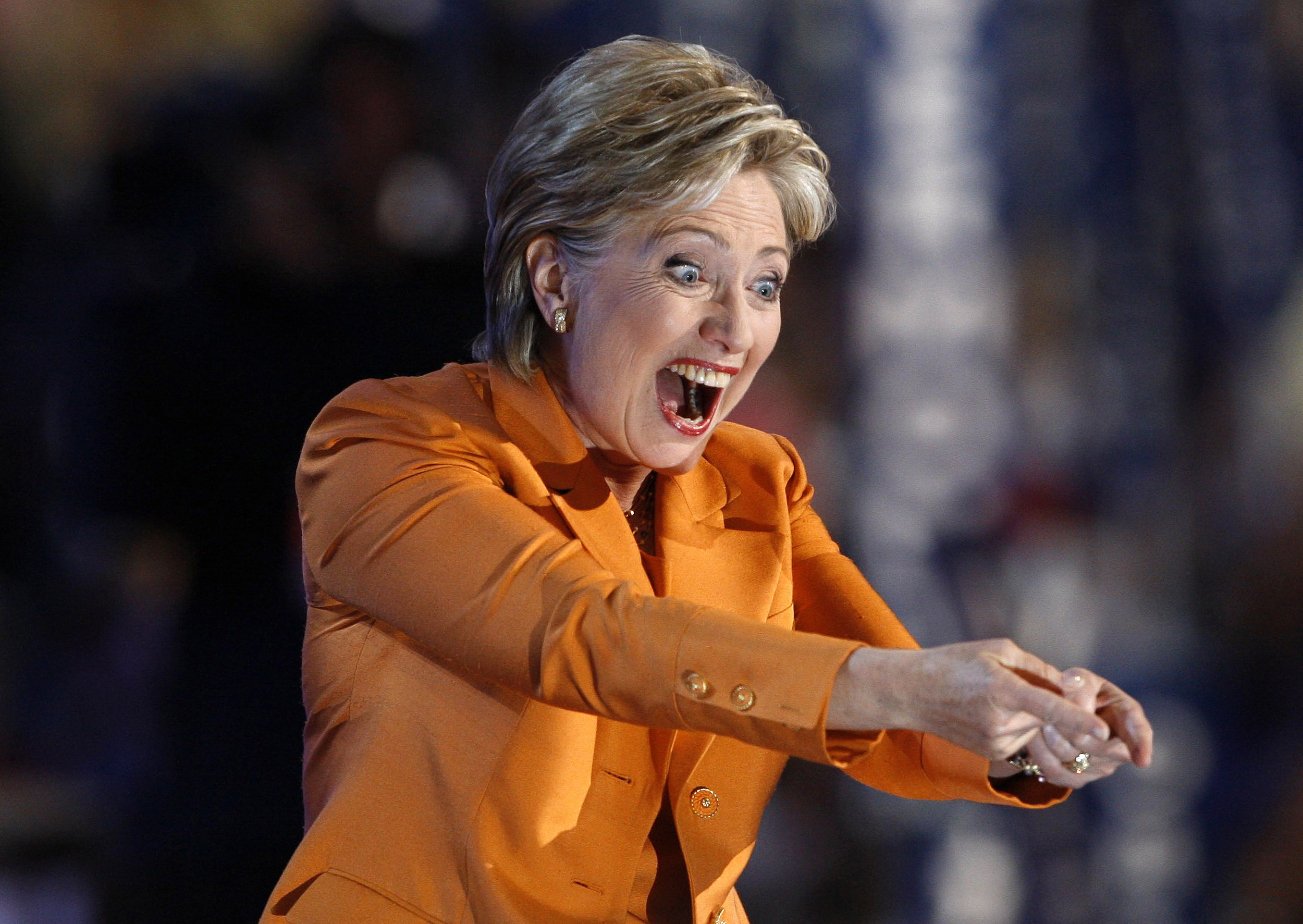 Princess Hillary Of Orange We The People Of The United States