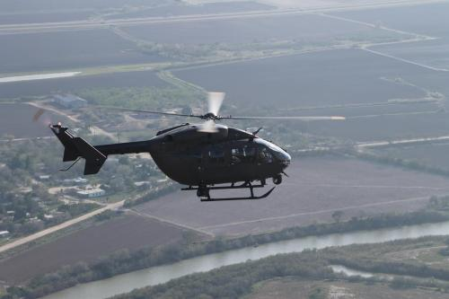 Georgia Army National Guard eyes in the sky over Texas' Rio Grande Valley sector